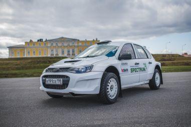 В России построили Ладу Калину с двигателем от Subaru