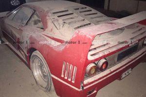 Ferrari F40 сына Саддама Хусейна была найдена у таинственного владельца (ФОТО)