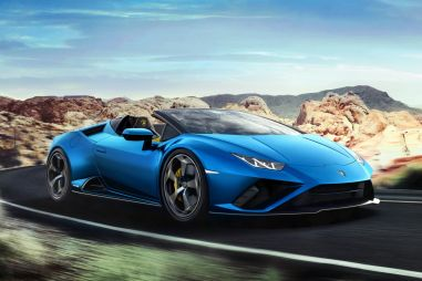 Lamborghini Huracan Evo RWD Spyder оказался медленнее и дороже купе