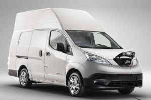 Nissan представил большой электрический фургон