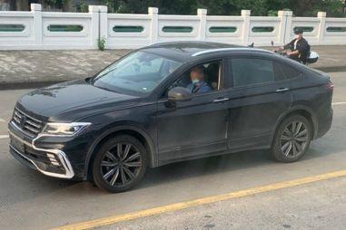 Купе-версия Volkswagen Tiguan показалась без камуфляжа