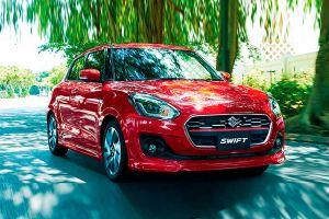 Suzuki Swift слегка обновился и стал безопаснее
