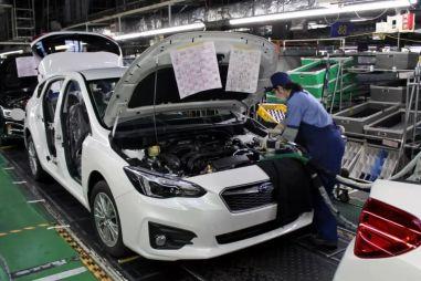 Subaru возобновила работу заводов в Японии и США