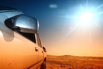 Оставление автомобиля на солнце поможет убить коронавирус