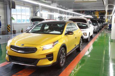 Кроссоверный вариант Kia Ceed начали производить в России