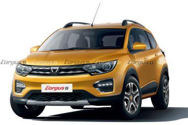 Renault хочет заменить Largus семиместным кроссовером