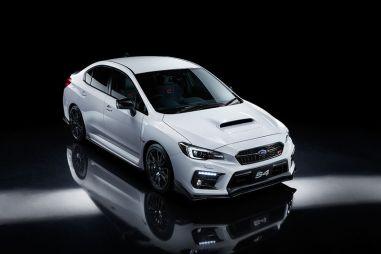 Subaru представила спецверсию WRX S4 STI Sport #