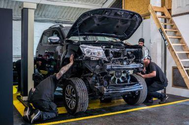Мотор Nissan GT-R установили в пикап Nissan Navara