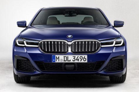 BMW представила обновленную 5-Series: подтянутая внешность, больше гибридов