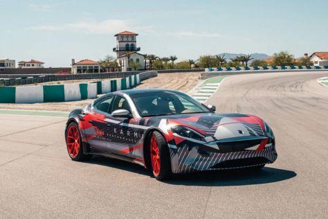 Karma Automotive показала 1100-сильный электрический прототип, созданный на модульной платформе