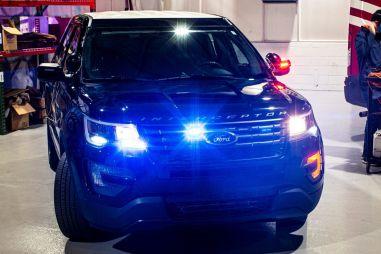 Полицейский Ford Explorer научился раскочегаривать салон, чтобы «поджаривать» коронавирус