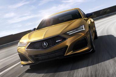 Acura TLX нового поколения стала самым быстрым и управляемым автомобилем в истории марки