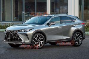 Следующее поколение Lexus NX обрадует дизайном и мощным двигателем
