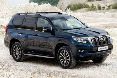 Слухи: Toyota Land Cruiser Prado станет кроссовером и получит вариатор