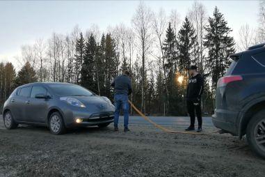 Перегон электромобиля Москва — Вологда, или 500 км на «Ниссан Лиф» своим ходом