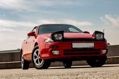 Toyota Celica T180: ралли в стиле ретро