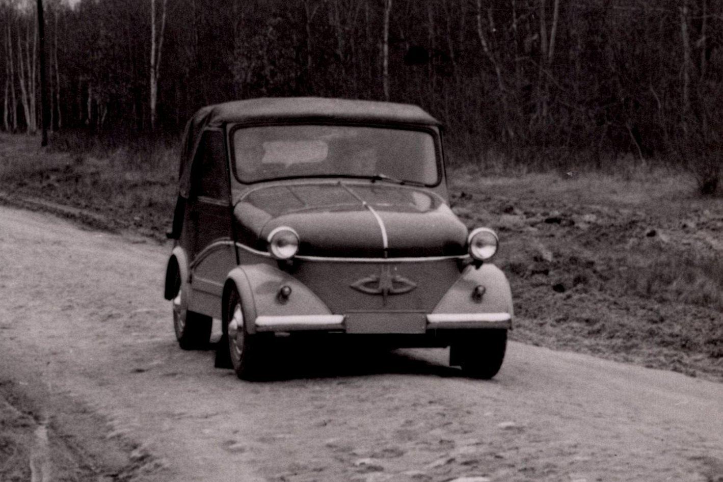 Советская мотоколяска С3А. Как рождалась «инвалидка»