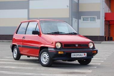 Народное ретро. Honda City AA первого поколения 1986 года. Эмоции в малом формате