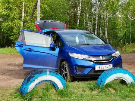Honda Fit 2013 - отзыв владельца