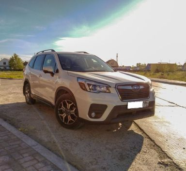 Subaru Forester 2019 отзыв автора | Дата публикации 14.01.2020.