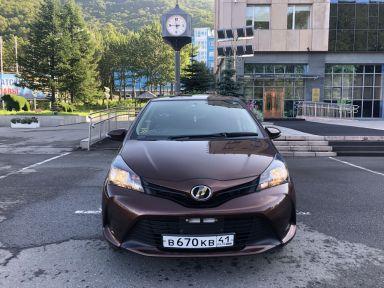 Toyota Vitz, 2015