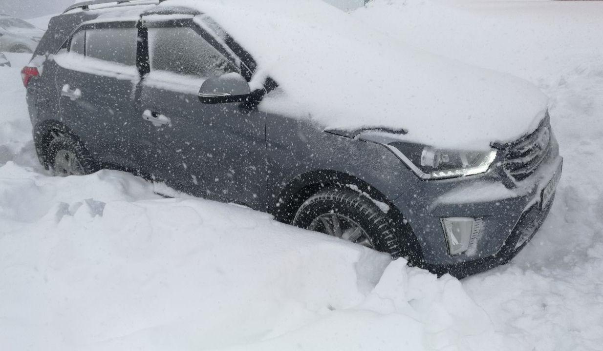 Типичная зима