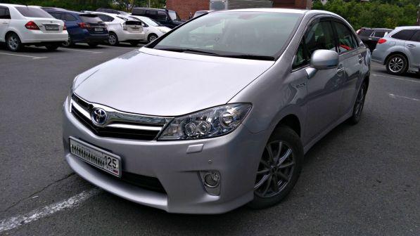 Toyota Sai 2011 - отзыв владельца