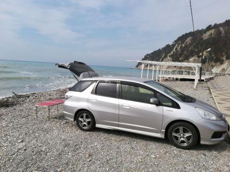 Honda Fit Shuttle 2014 - отзыв владельца