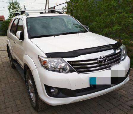 Toyota Fortuner 2015 - отзыв владельца