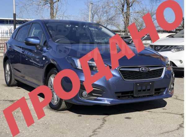 Subaru Impreza, 2017 год, 955 000 руб.