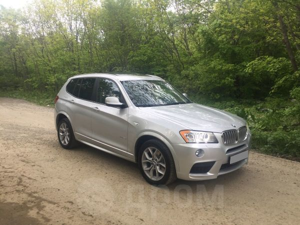 BMW X3, 2010 год, 1 350 000 руб.