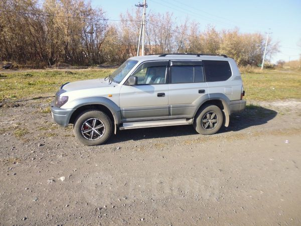 Toyota Land Cruiser Prado, 1998 год, 600 000 руб.