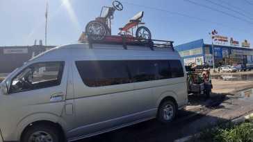 Кызыл Hiace 2007