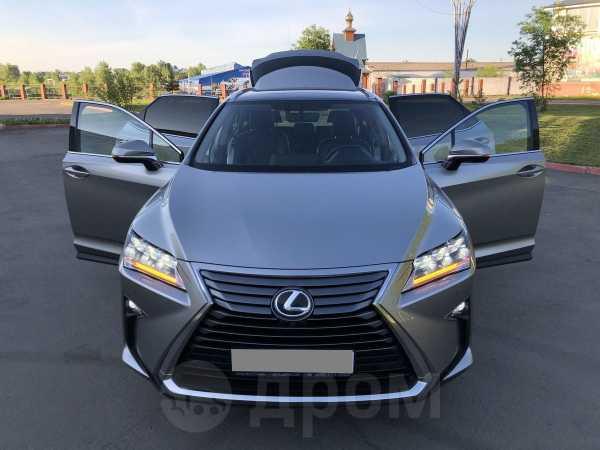 Lexus RX350, 2016 год, 3 600 000 руб.