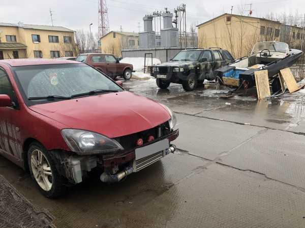 Mitsubishi Lancer, 2004 год, 300 000 руб.