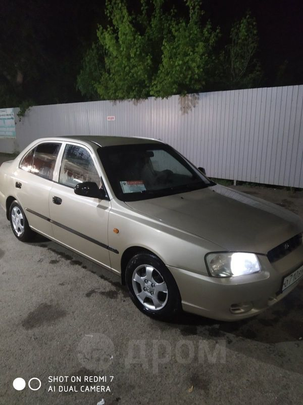 Hyundai Accent, 2003 год, 200 000 руб.