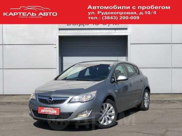 Opel Astra, 2011 год, 379 000 руб.