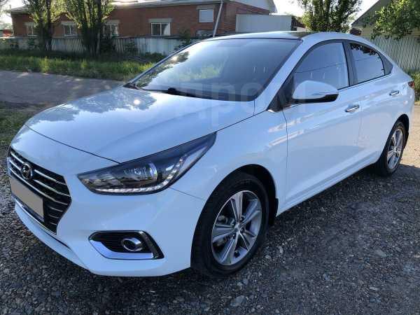 Hyundai Solaris, 2017 год, 855 000 руб.