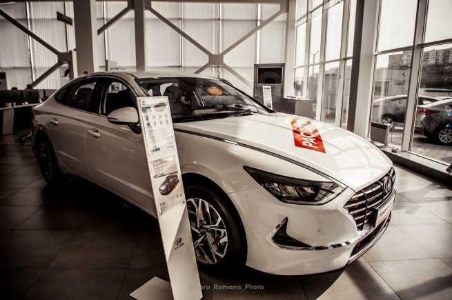 Hyundai Sonata, 2020 год, 1 871 000 руб.