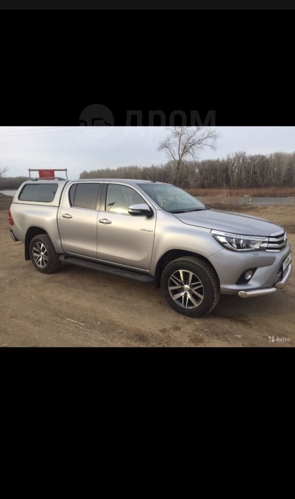 Toyota Hilux Pick Up, 2016 год, 2 280 000 руб.