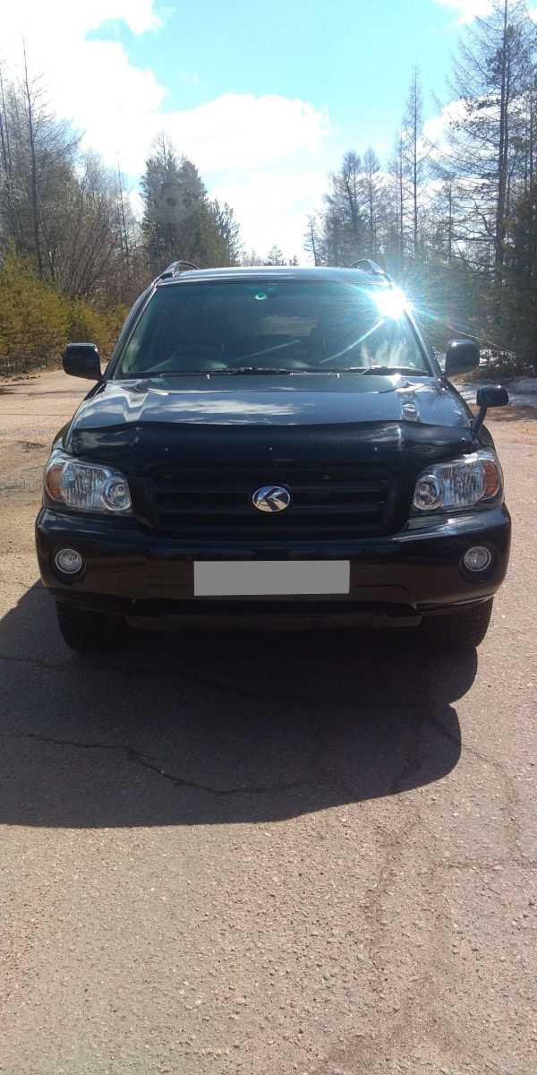 Toyota Kluger V, 2004 год, 700 000 руб.