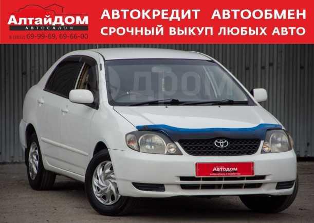 Toyota Corolla, 2002 год, 329 000 руб.