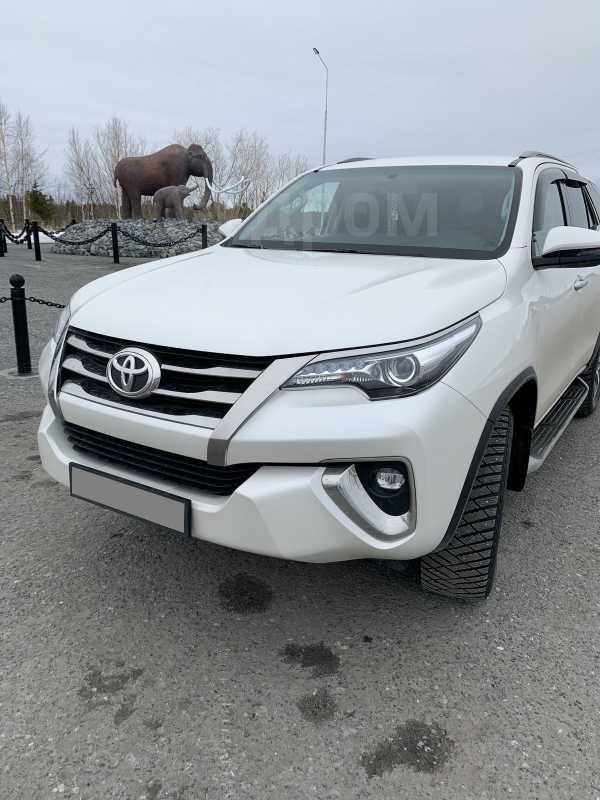 Toyota Fortuner, 2017 год, 2 600 000 руб.