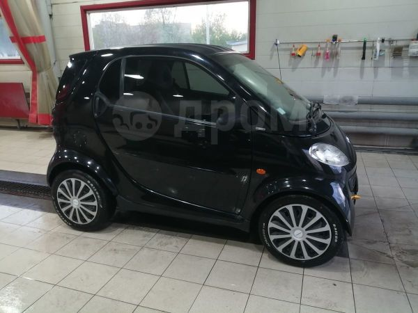 Smart Fortwo, 2002 год, 260 000 руб.