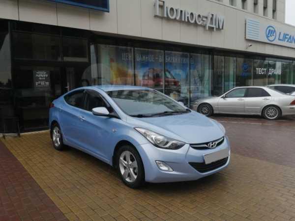 Hyundai Elantra, 2012 год, 599 000 руб.