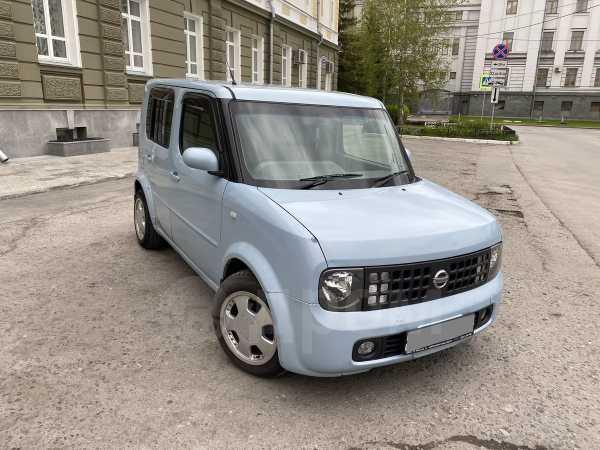 Nissan Cube, 2003 год, 205 000 руб.