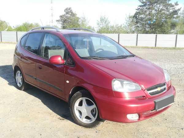 Chevrolet Rezzo, 2008 год, 309 000 руб.