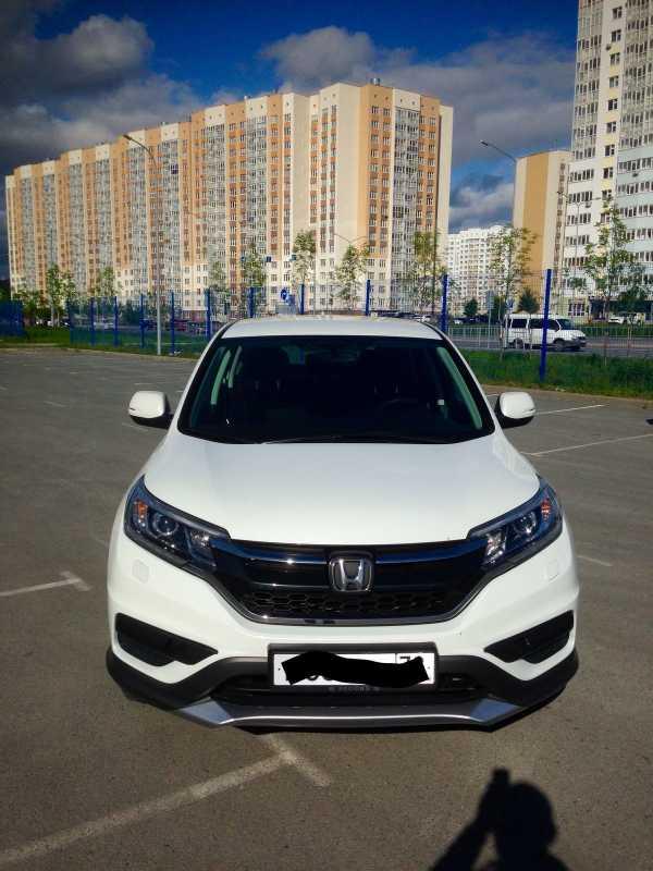 Honda CR-V, 2015 год, 1 340 000 руб.