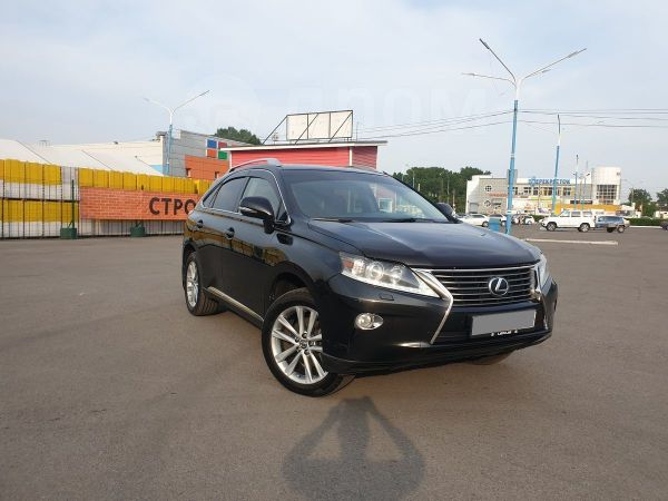 Lexus RX270, 2012 год, 1 499 000 руб.