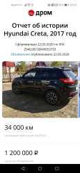 Hyundai Creta, 2017 год, 1 200 000 руб.